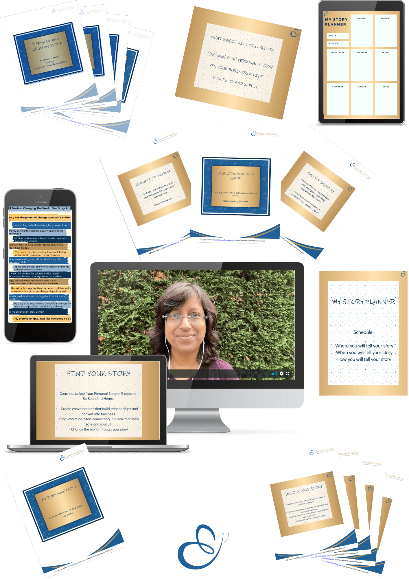 Find Your Story Bundle Transparent BG